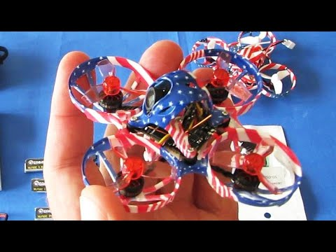 US65 Pro Micro FPV Whoop Racer Indoor Flight Test Review