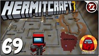 Among Us Map Reveal, Design, and Progress! - Hermitcraft 7: #69