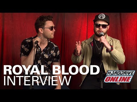 ROYAL BLOOD talks HOW DID WE GET SO DARK