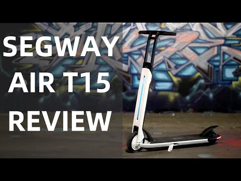 video Segway Ninebot Air T15E