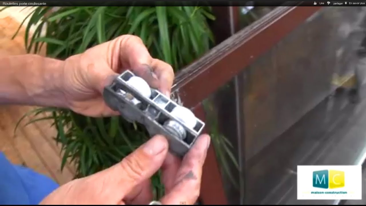 Roulettes Porte Coulissante Sliding Door Roller Repair