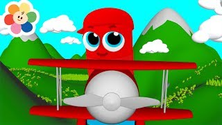Learn Colors for Children with Magical Airplanes | Kids Learning with Color Crew Babies 3D Animation