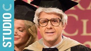 Old Man Ruins Graduation