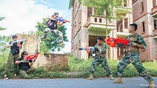 Nerf Guns War : SEAL TEAM Special action & Sniper Nerf guns Kidnapper Rescue Army Girl