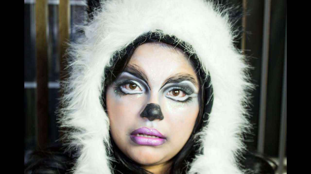 Bear face makeup
