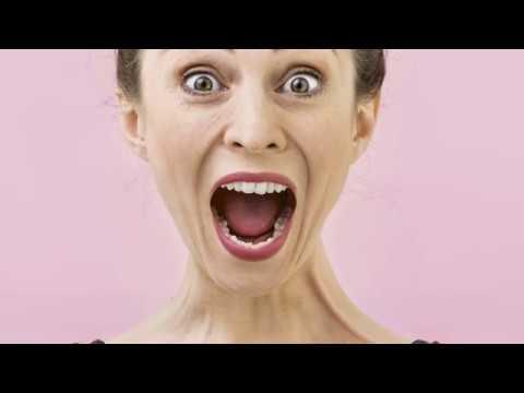 Stretchövningar för mun och käke