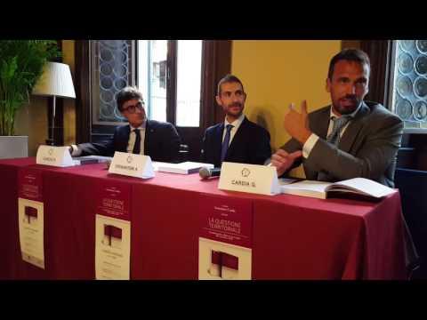 'La questione territoriale', la presentazione a Salò - prima parte