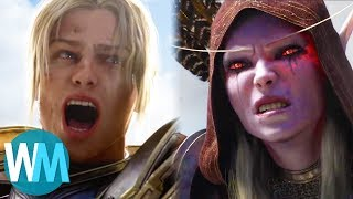 Top 10 Best Warcraft Cinematics!