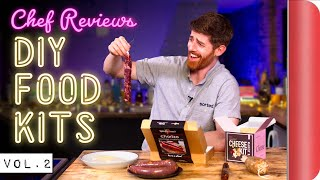 A Chef Reviews DIY Food Kits Vol. 2