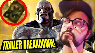 SNYDER CUT JUSTICE LEAGUE TRAILER BREAKDOWN! Secrets Revealed?