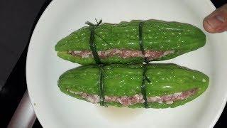Bạn đã biết nấu khổ qua nhồi thịt ngon ngọt không đắng chưa?