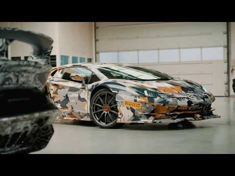 Aventador SVJ: Designed to have the best Weight to Power Ratio