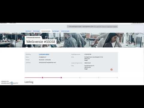 Tutorial: Een OAO opmaken in het digitale loket app.werkplekduaal.be