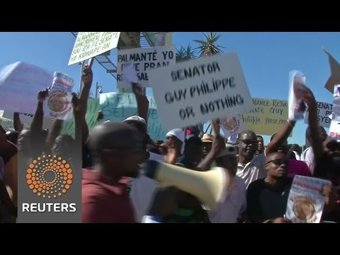 Haitians demand release of senator-elect after extradition