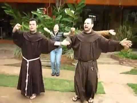 Frei Lucas Lisi, no WAKA WAKA da Juventude Franciscana