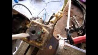 Removing The Gold Ball From An Airbag Sensor