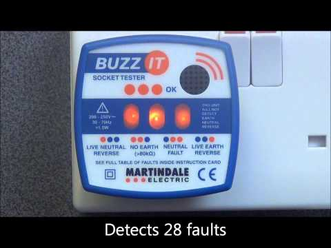 BZ101 Buzz-it check plug with audible indication