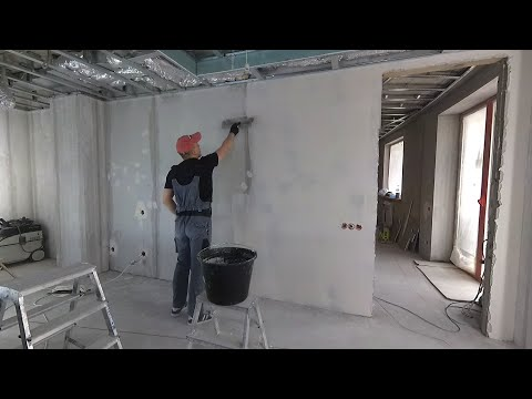 Как сделать шпаклевку стен под обои от А до Я? Классический способ. Возможные ошибки photo