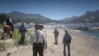 Red dead redemtion 2 lost on an island