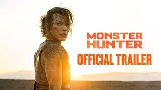 MONSTER HUNTER 2020 Movie Trailer