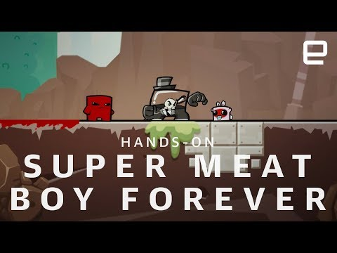 Super Meat Boy Forever at E3 2018