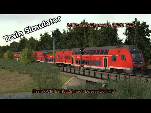 [TrainFW] RE2 (10226) nach Duesseldorf Hbf