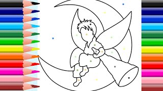 The coloring book    Coloring Pages for Kids   How to color for Kids