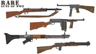 The Rarest Guns of World War II