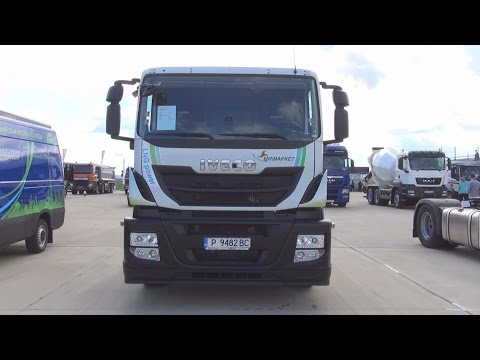Iveco Stralis AT440S33T/P LNG 4x2 Tractor Truck (2016) Exterior and Interior in 3D