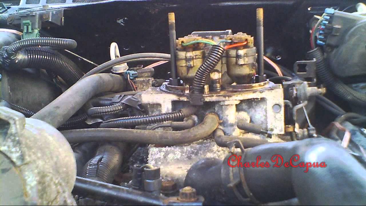 1989 Chevy 350 Tbi Open Headers Exhaust Youtube - Www imagez co