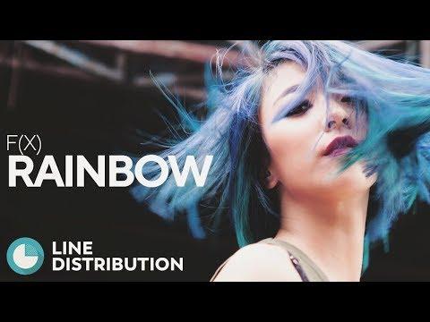 F(X) - Rainbow (Line Distribution)