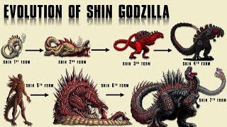 The 8 Forms of Shin Godzilla || Ultimate Evolution