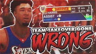 NBA 2K19 MyCAREER - Team Takeover GONE WRONG!