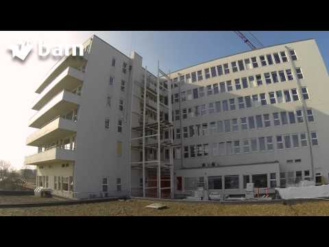 Time lapse BAM bouwt liftschacht Adelante