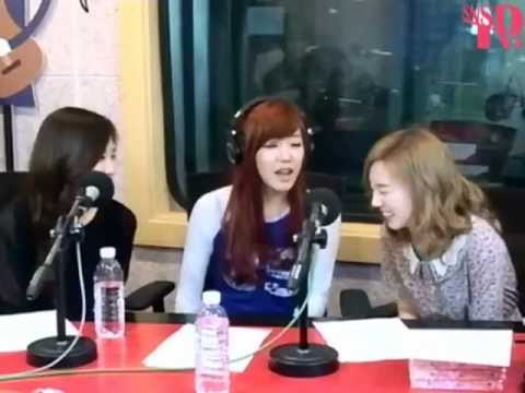 TaeTiSeo - Minions Banana Song @ Sweet Sorrow radio May 7, 2012 GIRLS' GENERATION Live