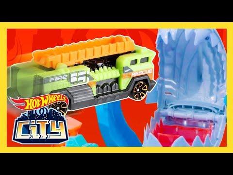 Hot Wheels City Blizzard Rescue Mission!   Hot Wheels City   Hot Wheels