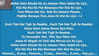 Raabta  Karaoke With Lyrics   Agent Vinod