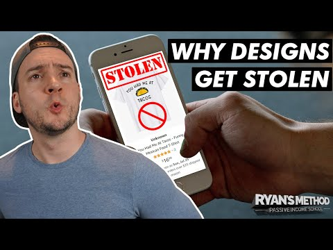 Why (& How) Your Print on Demand Designs Get STOLEN 👎