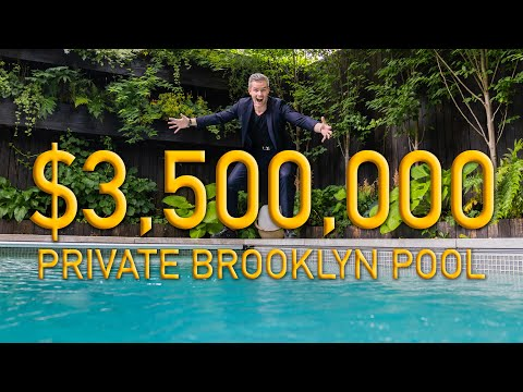 Inside a BROOKLYN Mansion with Private Heated Saltwater POOL | Ryan Serhant