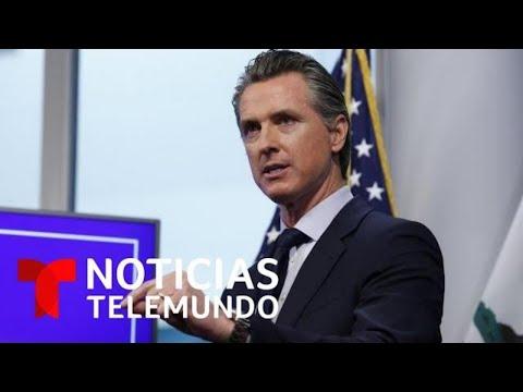 California anuncia nuevas restricciones para frenar la propagación del COVID-19 | Noticias Telemundo