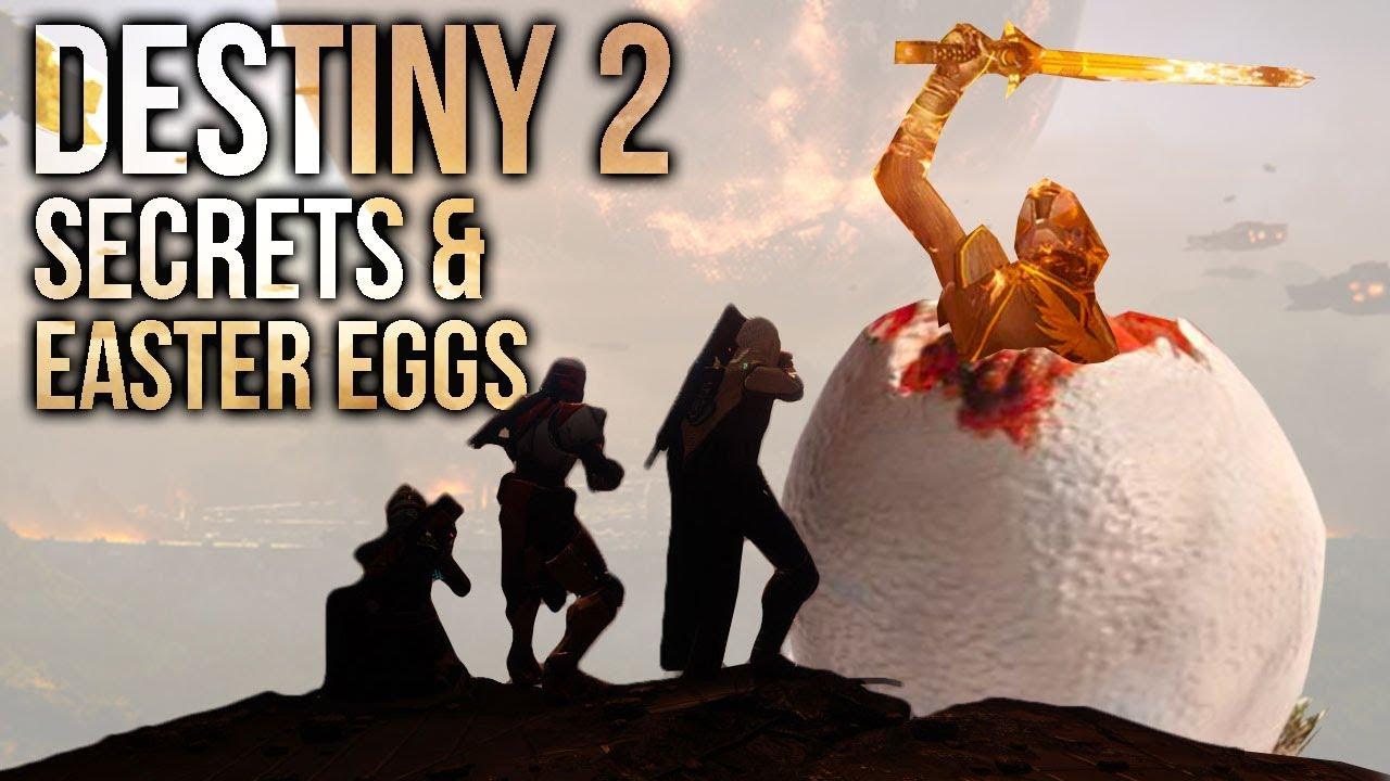 Destiny 2: Top 10 Secrets & Easter Eggs