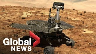 NASA's Mars rover finally dies after 15 year mission