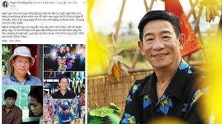 Dàn sao Việt bàng hoàng,thương tiếc  khi diễn viên Nguyễn Hậu ra đi đột ngột vì ung thư gan