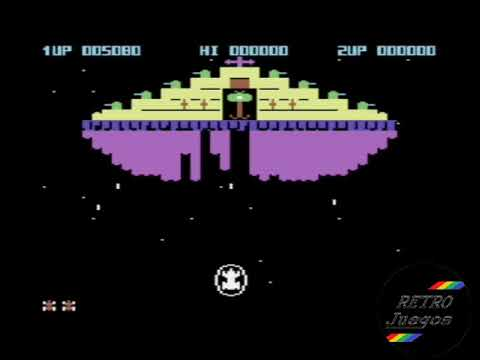Eagle Empire p/ Commodore 64 - Review de RETROJuegos by Fabio Didone