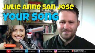 Julie Anne San Jose - Your Song (Parokya Ni Edgar) - Wish 107.5 | REACTION