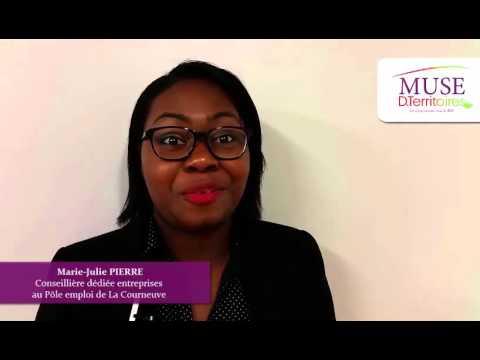 Marie-Julie PIERRE, conseillère entreprises, Pole Emploi