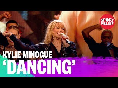 Kylie Minogue performs Dancing - Sport Relief 2018