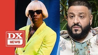 """Tyler The Creator Clowns DJ Khaled For Calling IGOR """"Mysterious"""" After Beating Father Of Asahd Sales"""