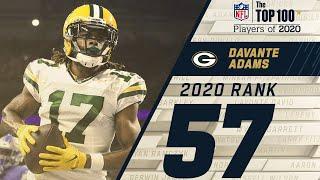 #57: Davante Adams (WR, Packers)   Top 100 NFL Players of 2020