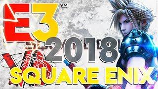 🔴SQUARE ENIX E3 2018 | FINAL FANTASY 7 REMAKE |Conferencia en español | #seE32018